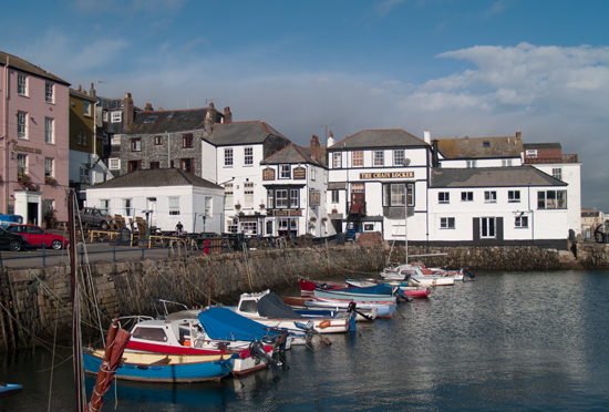 Boscawen Self Catering Apartment Packet Quays Falmouth Cornwall